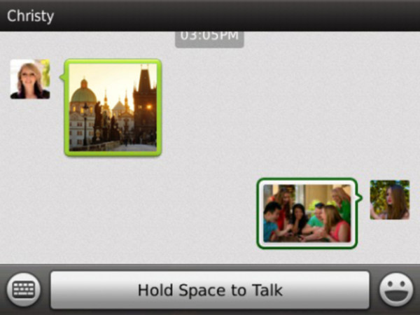 wechat for blackberry tablet